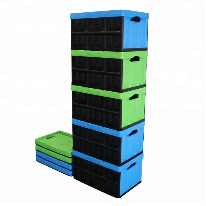 Kis Collapsible Crate Fold Up Storage Boxes Collapsing Container