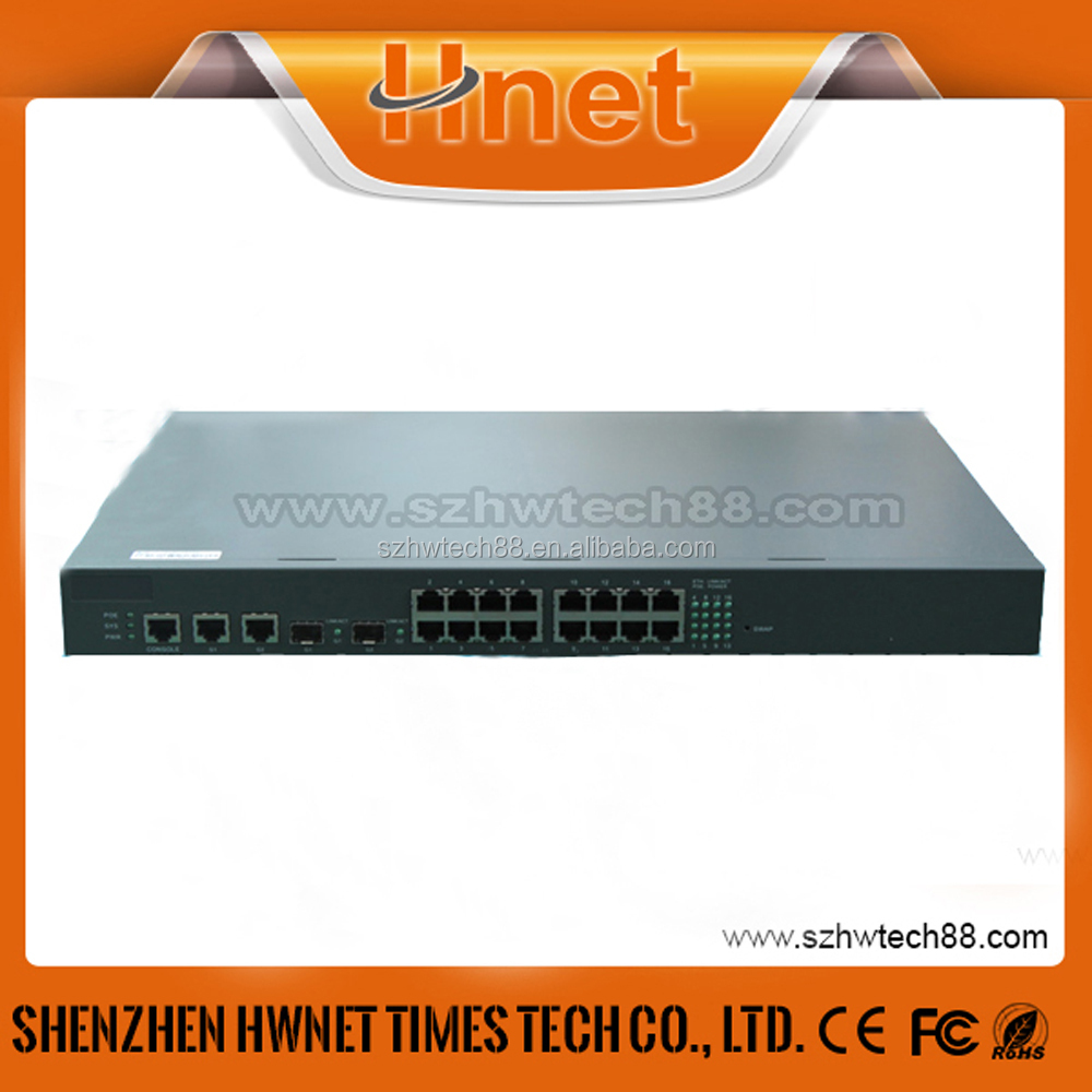 16 Ports 10/100Mbps POE Switch Power over Ethernet For CCTV Network IP Camera