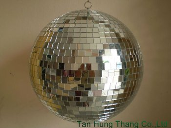 Real Glass Mirror Ball