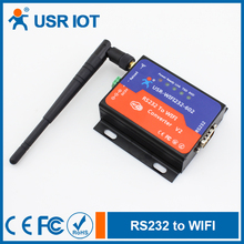 USR IOT WiFi Serial Converters Serial RS232 to Wireless Embedded WiFi Modules Support DC Adapter and Terminal Power Supply