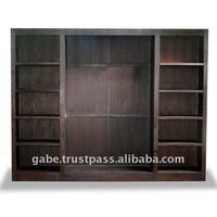 EBONY BOOK CASE