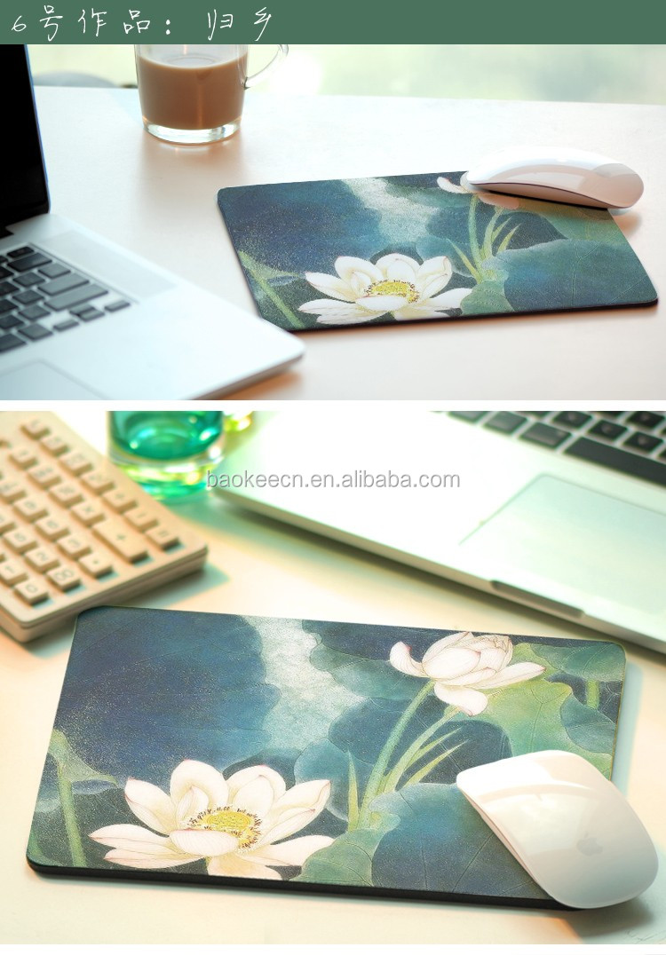 Wholesales Factory computer custom rubber wrist mouse pad