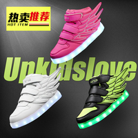 Casual Changeable Color light up kids led shoes