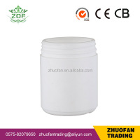 500ml HDPE wide mouth plastic bottle