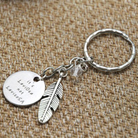 Wizard Magic keyring HP It's LeviOsa not LevioSA Wizard & Witch Hogwards crystals Spell wand key chain