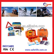 2015 retail multifunction Truck trip road Travel Kits Survival Backpacks Roadside Safety Pack Emergency Road Assistance