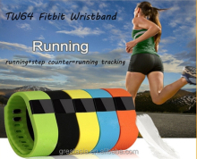 Activity tw64 Smart bracelet Wristband Fitness tracker Bluetooth 4.0 fitbit flex Watch for ios android sameto pulseira