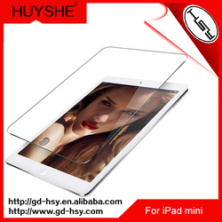 HUYSHE 9h clear laptop tempered glass screen protector for ipad mini