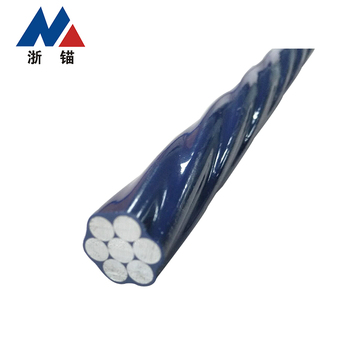 High Tensile Low Relaxation Filled Epoxy Pc Steel Strand For Construction