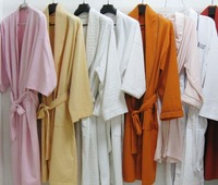 2015 OEM Cotton Bathrobe for home or hotel