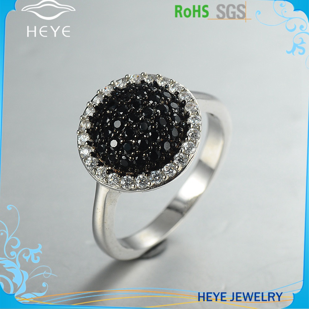 New arrival indian black metal onyx class rings jewelry for black women