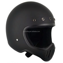 Cool Style Helmet Vintage Motorcycle Helmets DOT and ECE Approved Open Face
