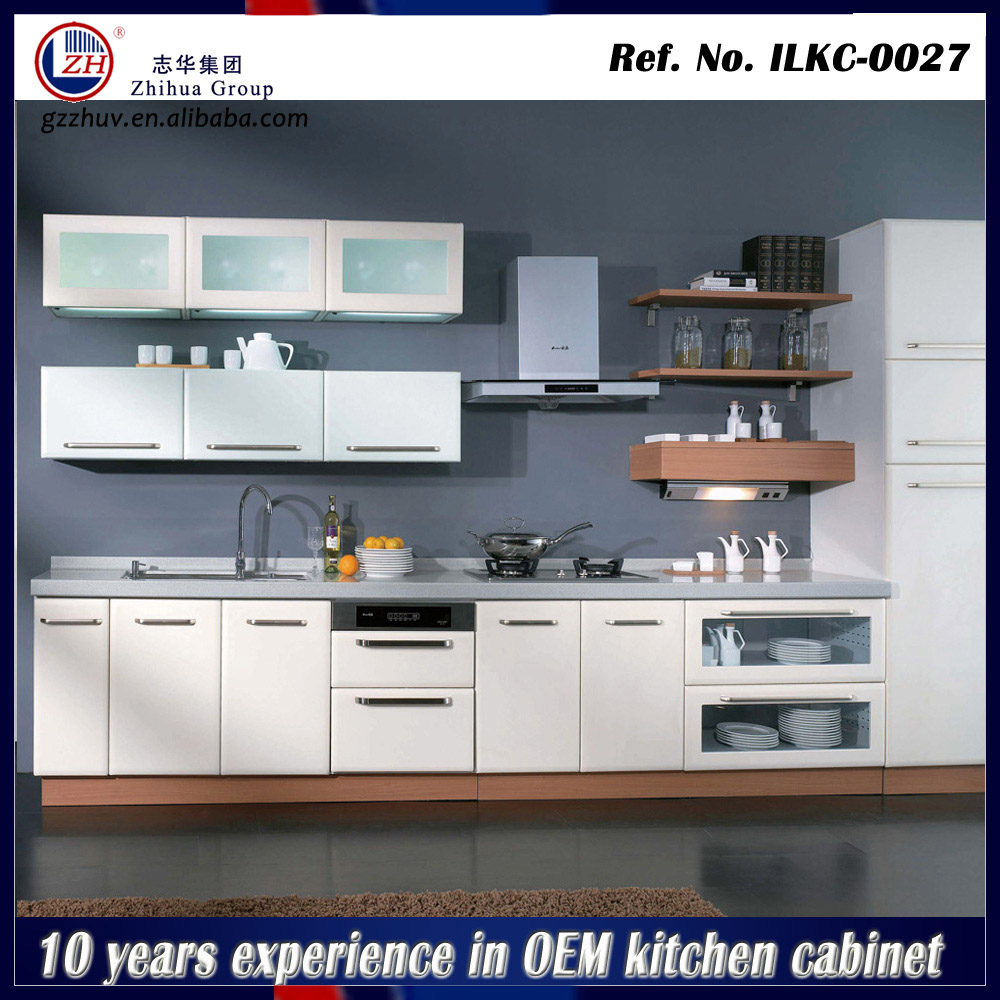 Hotel kitchen cabinet glass door modular kitchen designs for Modular kitchen for small kitchen
