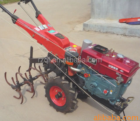 8-18hp diesel china walking behind tractor farm tractor with rotary tiller price