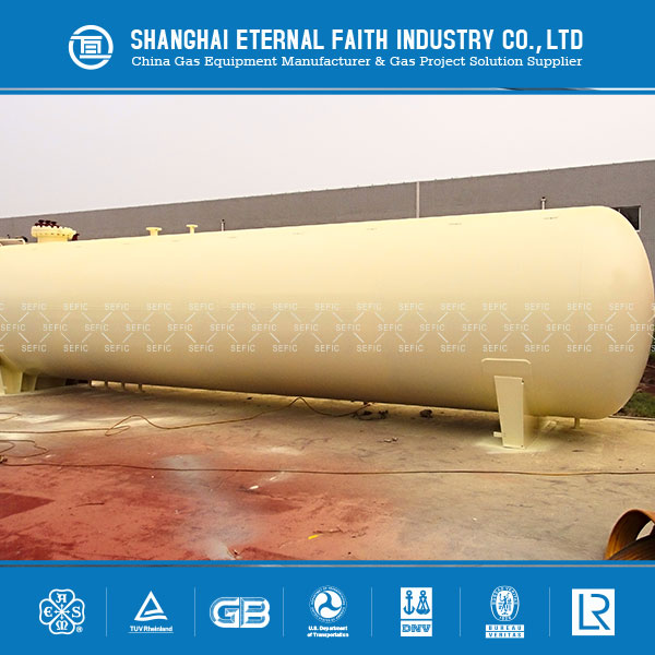 Used Widely Online Shopping LPG Gas Storage Tank