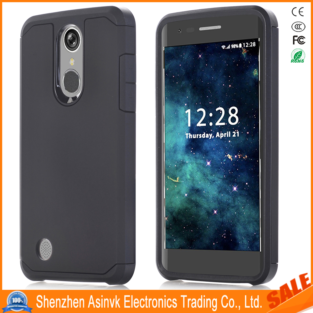 Armor Shock Absorbent Dual Layer Hybrid Defender Protective case For LG Aristo/LV3 /K8 2017