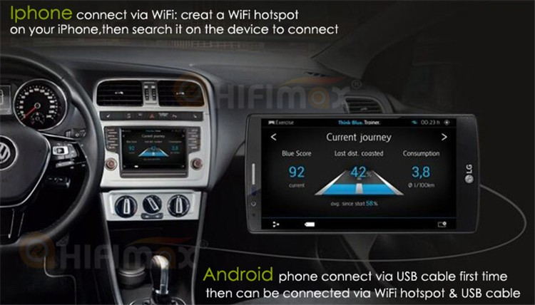 Hifimax Android 8.0 Car Radio For Suzuki S-Cross (2013-2015) DVD GPS Navigation System Multimedia Octa Core 4G RAM
