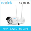 Wireless IP Camera ,Reolink 4 Megapixel 1440P 2.4G/5.8G Dual Mode Wifi Security Outdoor Bullet Camera