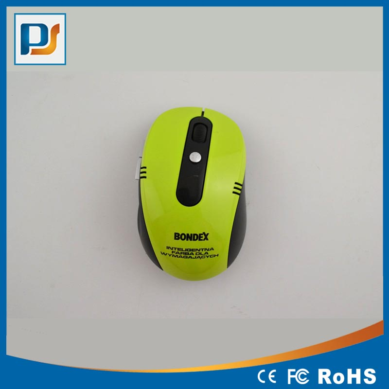 Cheap Promotional Gift 6D Optical Mouse Wireless Screen Print Logo Cute 2.4G Computer Mouse