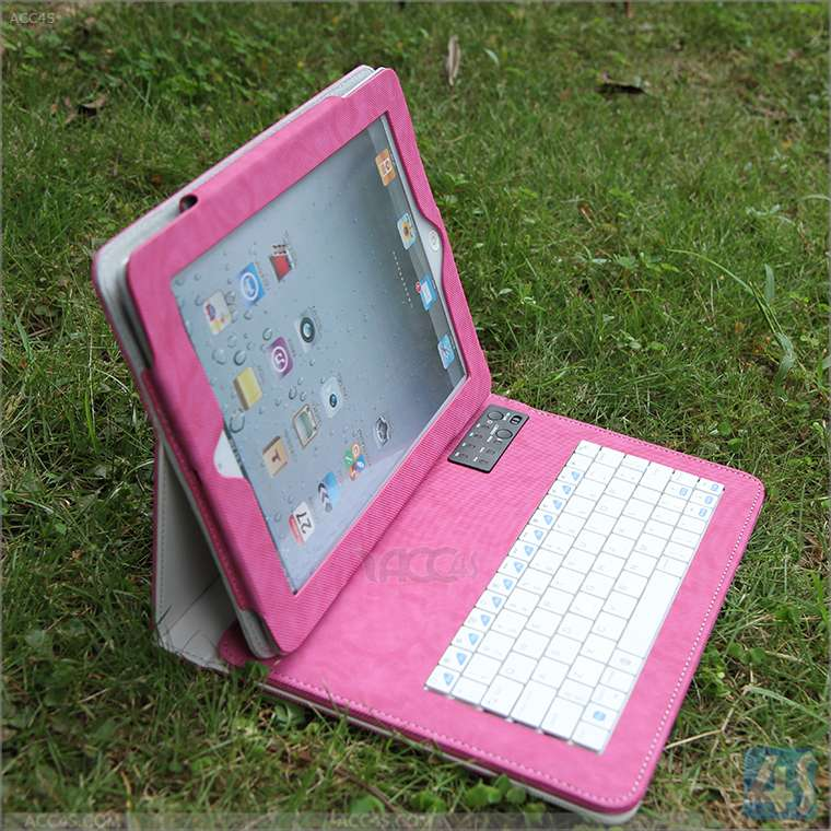 bluetooth wireless keyboard case for ipad with 4000mAh built-in battery for ipad 2 3 4 P-BLUETOOTHKB033
