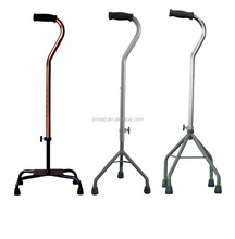 Height adjustable aluminum walking cane gun for sale
