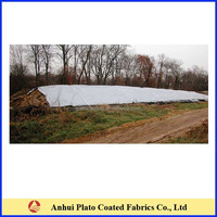 Long time PVC mateial Bad Weather Resistant Hay Cover