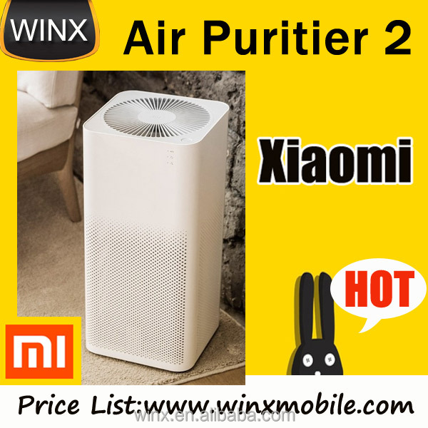 2017 Xiaomi Air Purifier 2 Intelligent Wireless Smartphone Control Smoke Dust Peculiar Smell Cleaner for Office Home PM 2.5 330m