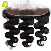 13*2 Lace closure Peruvian lace frontal body wave with baby hair Body Wave ear to ear lace frontal