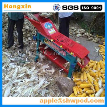 2017 cheap price farm agriculture corn husker, corn huller, corn dehuller machine