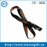Customized Cheap Welcome Printed Lanyards With