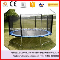 Popular 10ft fitness equipment trampoline,trampoline with enclosure