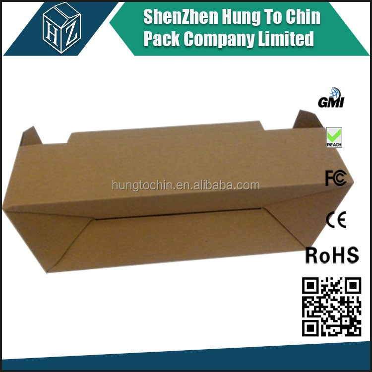 FOB Shenzhen high quality cheap price factory customized auto lock bottom packaging box