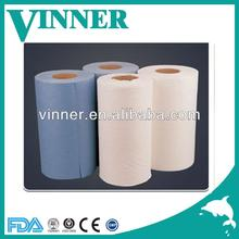 Roll spunlace nonwoven fabric from professional vinner factory
