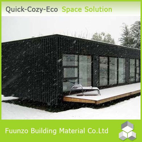 Eco-friendly Sandwich Panel Cladding Flat Roof Executive Mobile Toilet