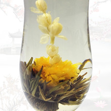100% Top Quality Chinese Handmade Flavored Flower Blooming Tea