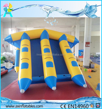 3 Tubes Adult water toy inflatable flying fish tube towable