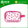 Wholesale Clear Dot Printed Pvc Cosmetic Bag