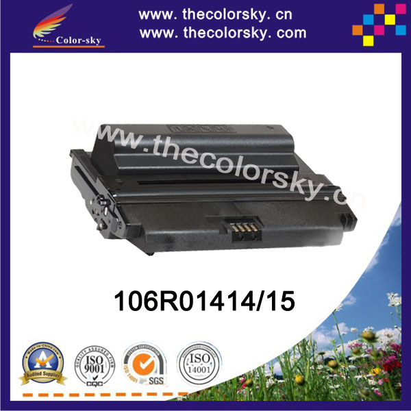 (CS-X3435H) BK compatible toner cartridge for Xerox phaser 3435 3435D 3435DN CWAA0763 106R01414 106R01415 (10k pages)