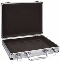 Small Accessory Mens Hard Briefcase Aluminum Laptop Flight Carry Case