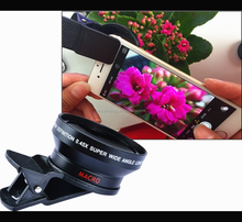2017 New Design 180 Degree Fisheye Lens with Universal Clip for All Mobile Phones
