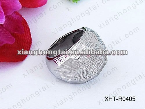 High quality blank stainless steel ring