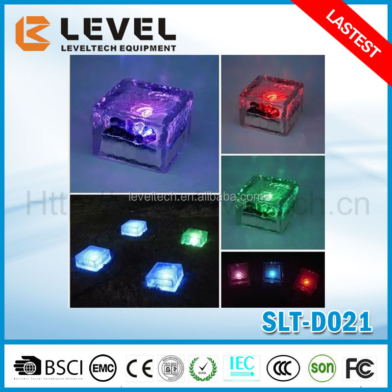 Wholesale 2016 Hot Design IP65 Protection Level And Solar Light Type LED Solar Ice Brick
