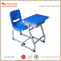 High Quality University Furniture Desk and Chair,PP School Desk and Chair, School Furniture