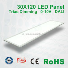Top Quality!!! CE RoHS TUV CRI>80 PF>0.9 2835SMD Ultra Slim DALI Dimming LED Panel Light