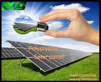 120W High quality Solar Panle / POLY
