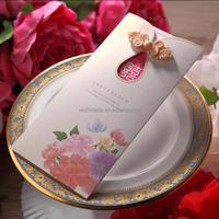 CW2053 3d handmade decoration Wedding Invitation Card greeting, birthday card designs
