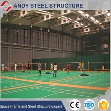 Steel Structre Building Prefabricated Tennis /Sports Hall