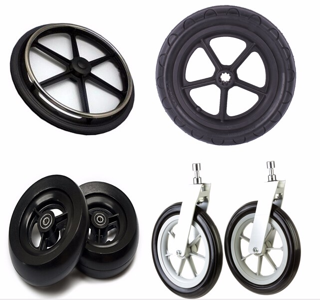 Chinese self skinning foam casting PU solid tires