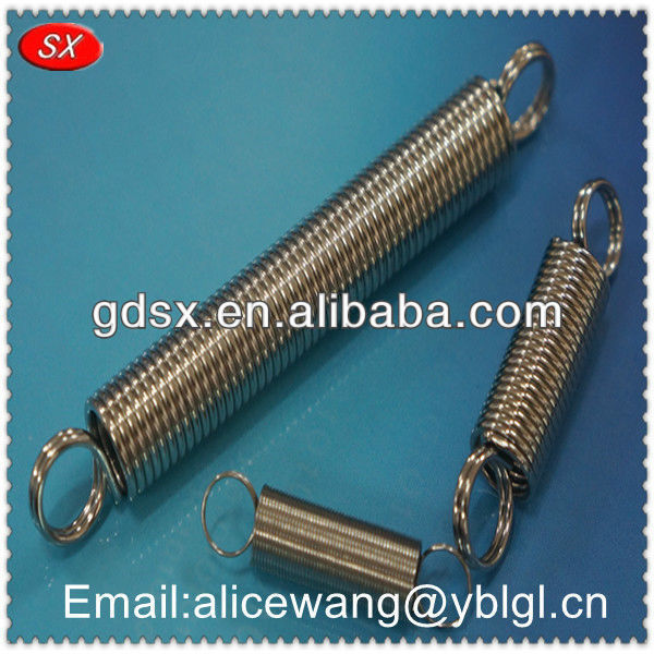 Customized stainless steel heavy-duty extension springs,tool extension spring,spring balance extension spring