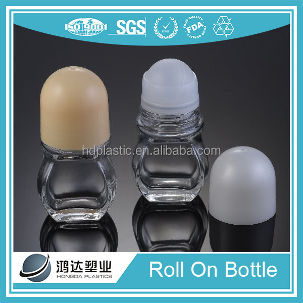 Original perfume brands glass roll on bottle 50ml